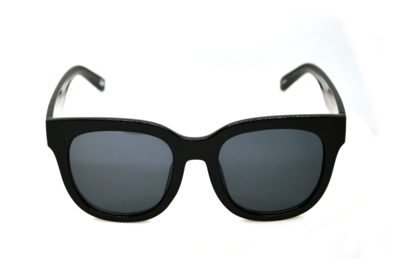 Shady Black Butterfly Sunglasses with Grey Tint 2