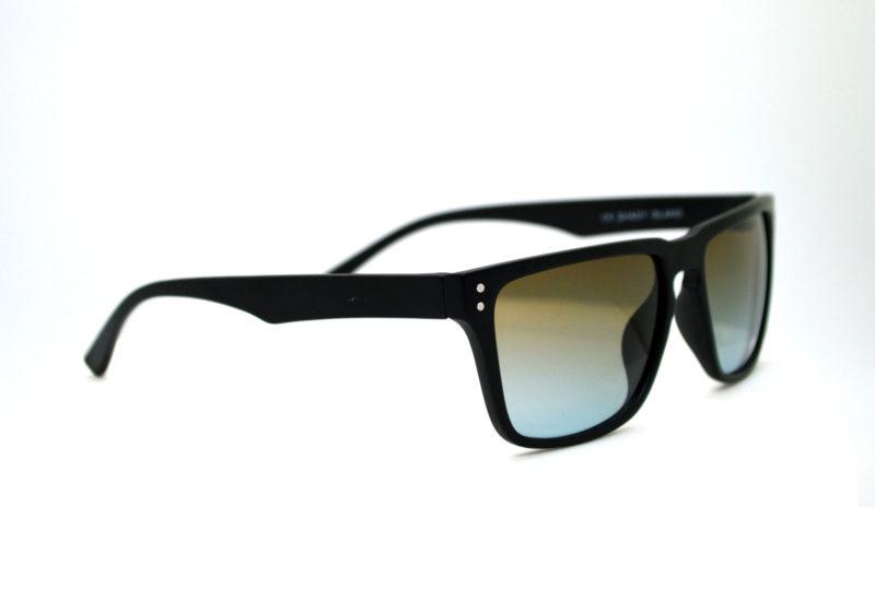 Shady Black Sporty Sunglasses with Light Tint 1