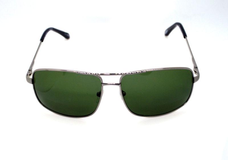 Shady Silver Finish Metallica Sunglasses with Light Tint 2