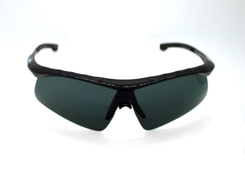 Shady Black Sporty Sunglasses with Dark Tint 2