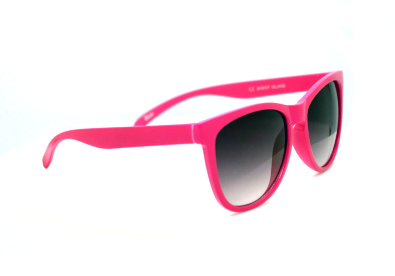 Shady Pink Tween Sunglasses with Black Gradient Tint 1