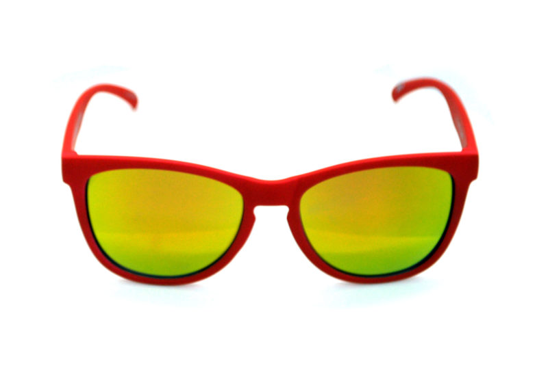 Shady Red Tween Sunglasses with Yellow Tint 2